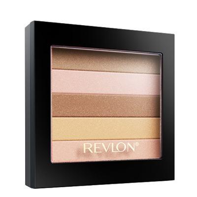 Highlighting Palette Revlon - Blush/Sombra - 010 - Peach Glow-Matte