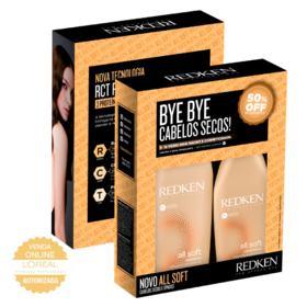 Redken All Soft Kit - Shampoo + Condicionador - Kit