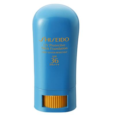 Imagem 1 do produto UV Protective Stick Fundation FPS36 Shiseido - Base - 01-Fair Ivory