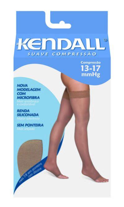 Imagem 1 do produto MEIA COXA 13-17 SUAVE KENDALL - MEL PONTEIRA ABERTA G