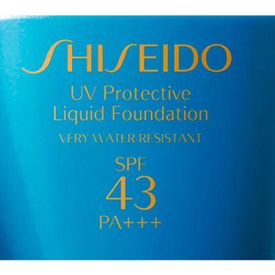 Imagem 3 do produto UV Protective Liquid Foundation SPF 43 Shiseido - Base para Rosto - Medium Beige SP60