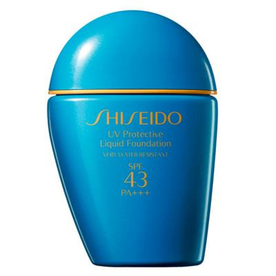 UV Protective Liquid Foundation SPF 43 Shiseido - Base para Rosto - Light Ochre SP30