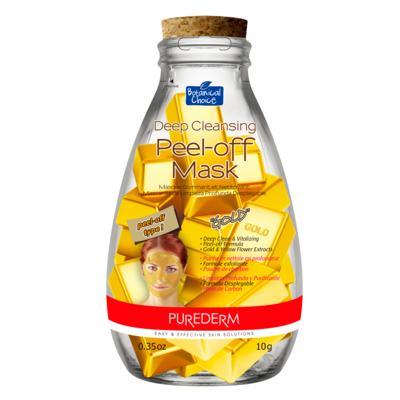 Imagem 1 do produto Máscara Facial Purederm - Deep Cleansing Peel-Off Gold - 10g