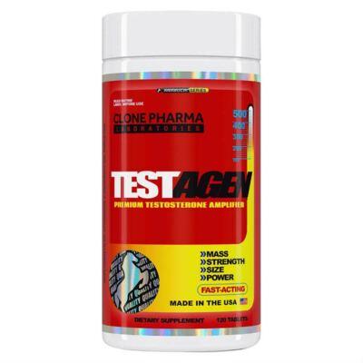 Pró-hormonal Testagen 120 Tabletes - Clone Pharma