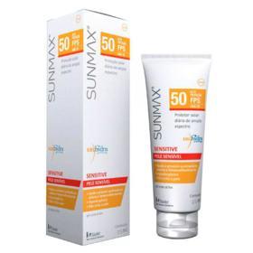 Protetor Solar Facial Sunmax Fluido Sensitive Pele Sensível Pocket - 25ml