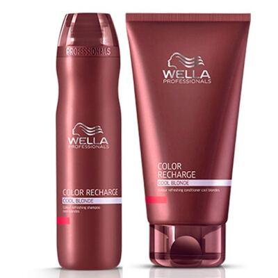 Imagem 2 do produto Wella Professionals Color Recharge Cool Blonde - Shampoo - 250ml