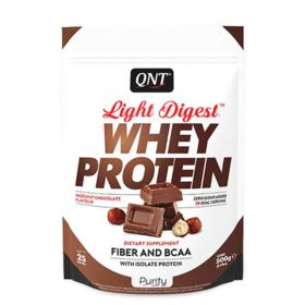 Light Digest Whey Protein 500G - QNT - Light Digest Whey Protein 500G - QNT - Hazelnut Chocolate