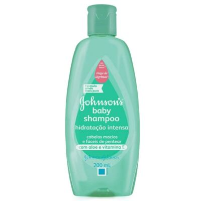 Shampoo Infantil Johnson Hidratação Intensa 200ml