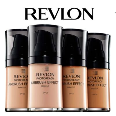 Imagem 3 do produto Photoready Airbrush Effect MakeUp Revlon - Base Líquida - 140 Nude