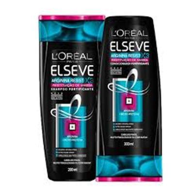 Kit Shampoo + Condicionador Elseve Arginina - Reinstituição | 2 unidades