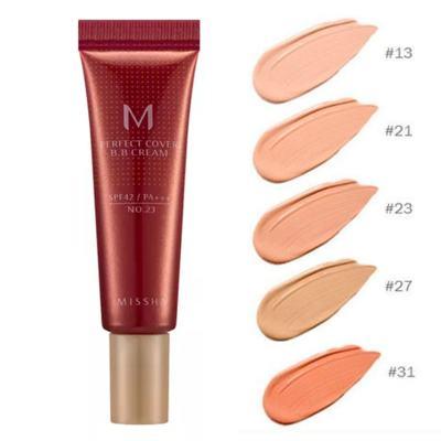 Imagem 3 do produto M Perfect Cover BB Cream 10ml Missha - Base Facial - 21 - Light Beige