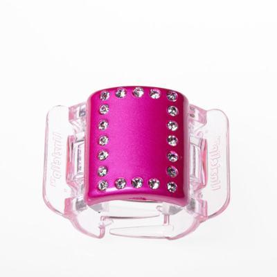 Imagem 3 do produto Prendedor de Cabelos Linziclip Pearlised Diamante - Hot Pink