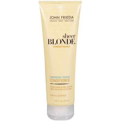 John Frieda Sheer Blonde Lustrous Touch Strengthening - Condicionador - 250ml