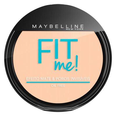 Fit Me! Maybelline - Pó Compacto para Peles Clara - 100 - Claro Sutil