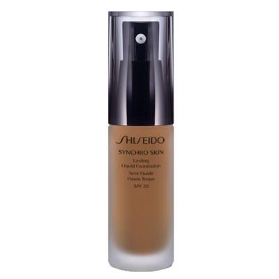 Synchro Skin Lasting Liquid Foundation SPF 20 Shiseido - Base Líquida - G5 - Golden 5