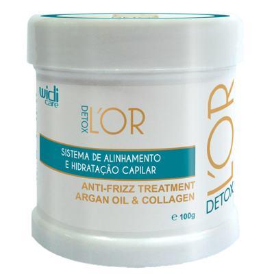Sistema de Alinhamento e Hidratação Capilar Widi Care - L' Or Detox Passo 2 - 100g
