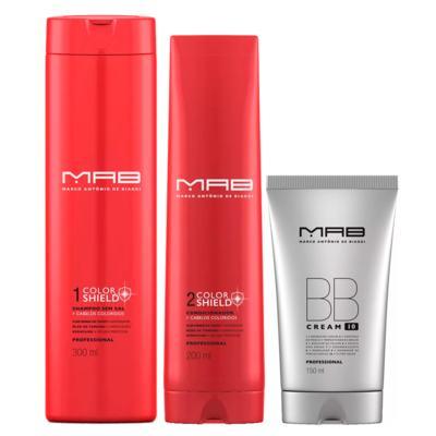 MAB Color Shield + BB Cream Kit - Shampoo + Condicionador Leave-in BB Cream - Kit