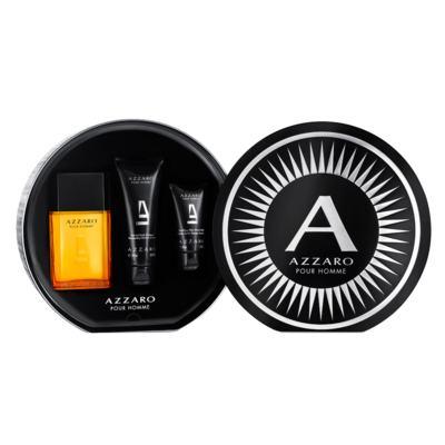 Azzaro Pour Homme Azzaro Kit - Eau de Toilette  + Shampoo para Corpo e Cabelo + Pós-Barba - Kit