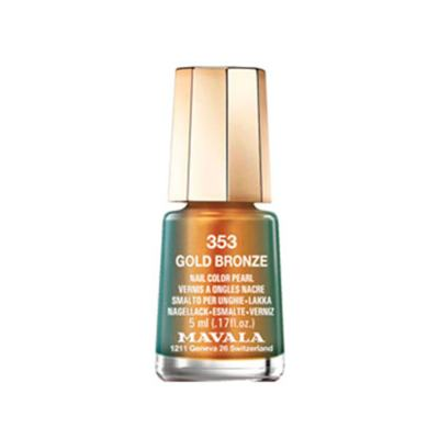 Mavala Mini Color 5ml - Esmalte Cintilante - 353 - Gold Bronze