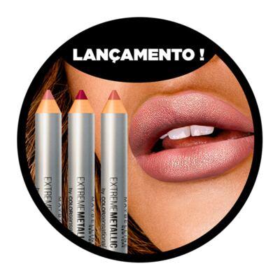 Imagem 4 do produto Color Sensational Extreme Metallics Maybelline - Batom em Lápis - Deixa Brilhar