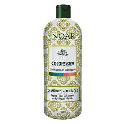 Inoar Color System - Shampoo Pós-Coloração - 1L