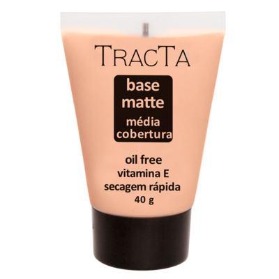 Base Facial Matte Tracta Média Cobertura - 01 | 40g