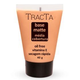 Base Facial Matte Tracta Média Cobertura - 05 | 40g