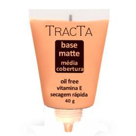 Base Facial Matte Tracta Média Cobertura - 03   40g