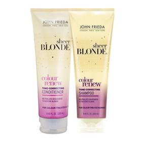 Kit Shampoo + Condicionador John Frieda Sheer Blonde Color Renew Tone Correcting - Kit