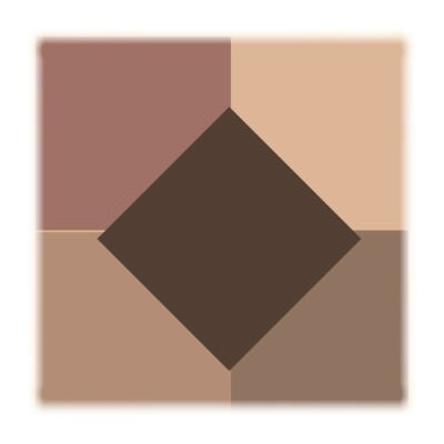Imagem 2 do produto Quinteto de Sombras Matte Vult - Sombra - Lovely Nude