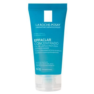 Gel de Limpeza Facial La Roche-Posay - Effaclar Concentrado - 60g