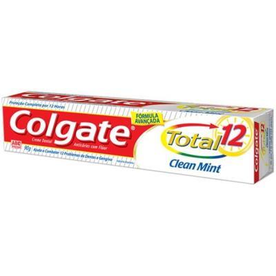 Imagem 2 do produto Creme Dental Colgate Total 12 Clean Mint 90g -