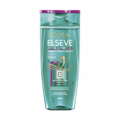 Imagem 1 do produto Shampoo Elseve Hydra Detox 48h Antioleosidade 400ml