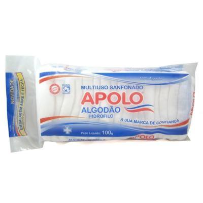 Algodão Apolo - Hidrófilo Ziplock | 50g