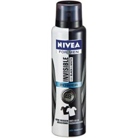 Desodorante Antitranspirante Nivea Men - Invisible For Black & White Aerosol | 150ml