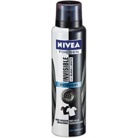 Desodorante Antitranspirante Nivea Men - Invisible For Black & White Aerosol | 150ml