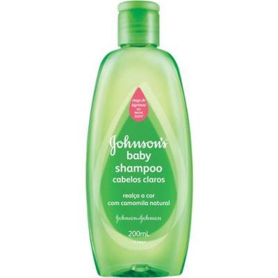 Shampoo Infantil Johnson Claros 200ml