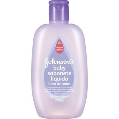 Imagem 1 do produto Sabonete Líquido Infantil Johnson Hora do Sono 200ml