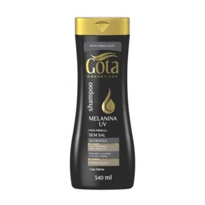 Imagem 1 do produto Shampoo Gota Cosméticos Melanina Uv 340ml