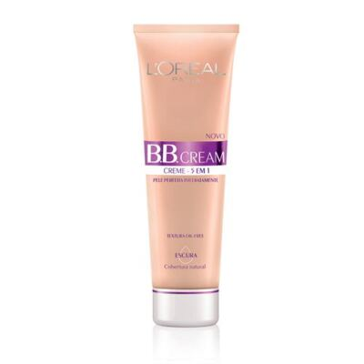 BB Cream 5 em 1 SPF20 50ml L'oréal Paris - Base - Escuro