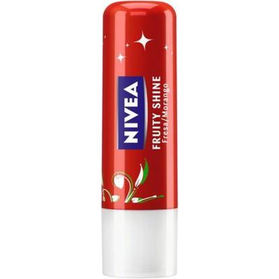 Protetor Solar Labial Nivea 4,8 g Lip Care Fps10 Fruity Shine Morango
