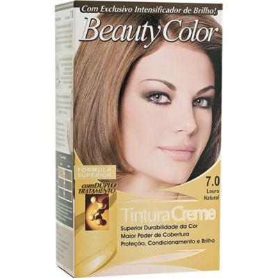 Tintura Permanente Beauty Color 7.0 Louro Natural