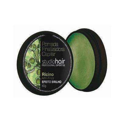 Imagem 2 do produto Pomada Finalizadora Studio Hair Rícino Anti-Frizz 40g -