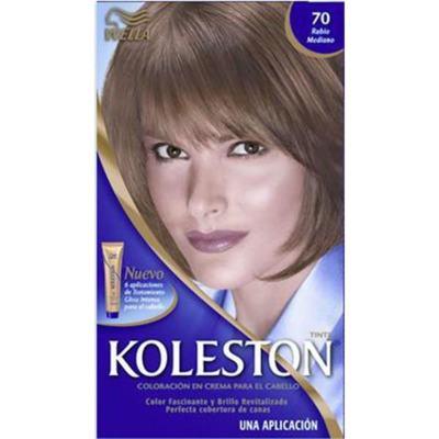Imagem 1 do produto Tintura Permanente Koleston 70 Louro Médio