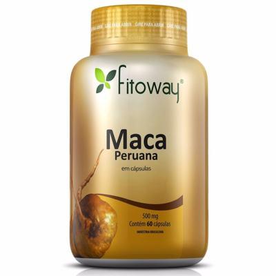 Imagem 1 do produto Maca Peruana 500mg com 60 Cápsulas Fitoway -