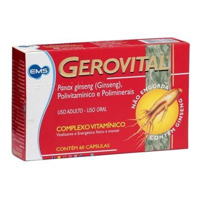 Imagem 1 do produto Gerovital 60 Cápsulas -
