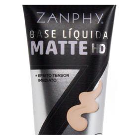 Base Líquida Zanphy - Matte HD - 00 - Clarissima