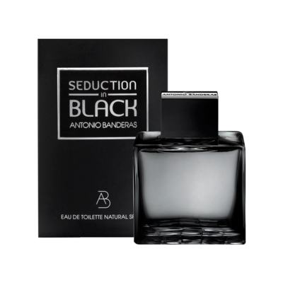 Seduction In Black Splash Eau De Toilette Masculino by Antonio Banderas - 100 ml