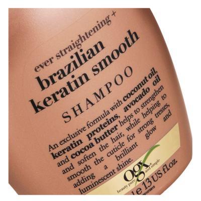 Imagem 4 do produto Shampoo Ogx - Brazilian Keratin Smooth   385ml