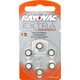 Pilha Auditiva 13 Rayovac Extra Advanced 1,4v 6un